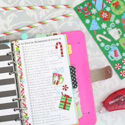 31 Things to do in December Printable