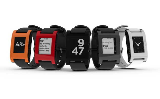 pebble watch SmartWatches Terbaik 2013
