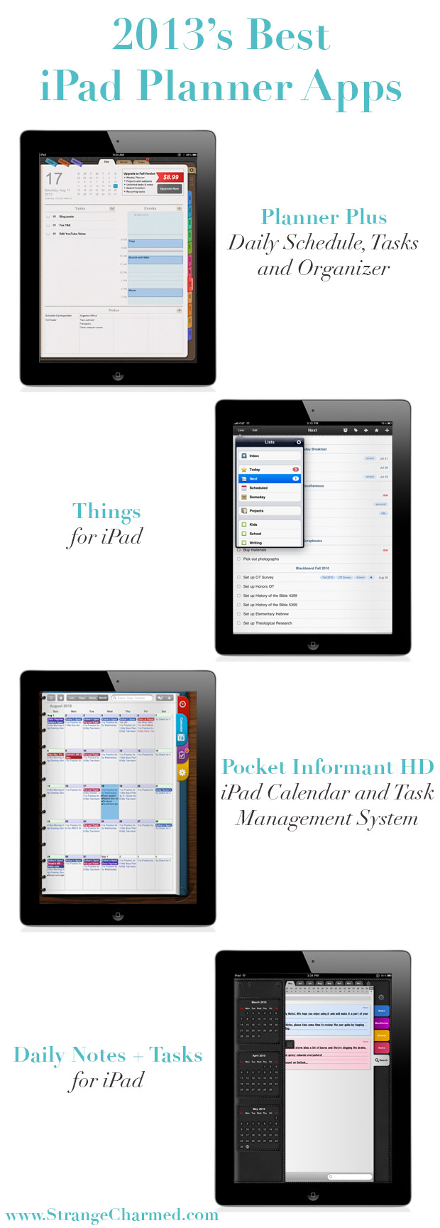 Calendar Planner Ipad : Ipad vs filofax strange charmedstrange charmed