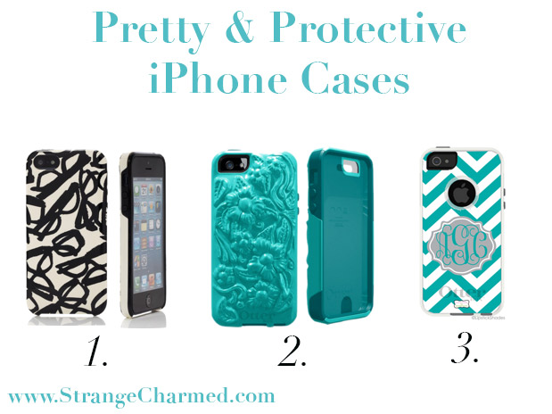 classic fit 34e51 01b08 Pretty & Protective iPhone Cases - Strange & Charmed