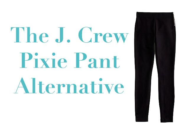 b6ffed20c59979 The J. Crew Pixie Pant Alternative - Strange & Charmed