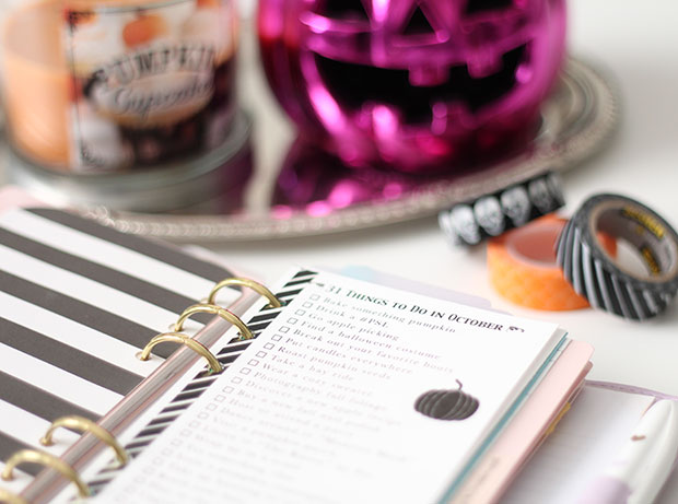 31 Things to Do in October Free Printable