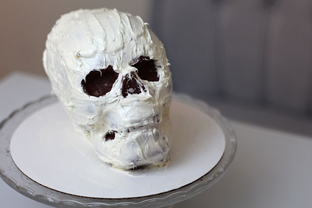 Halloween Skull Cake Pan