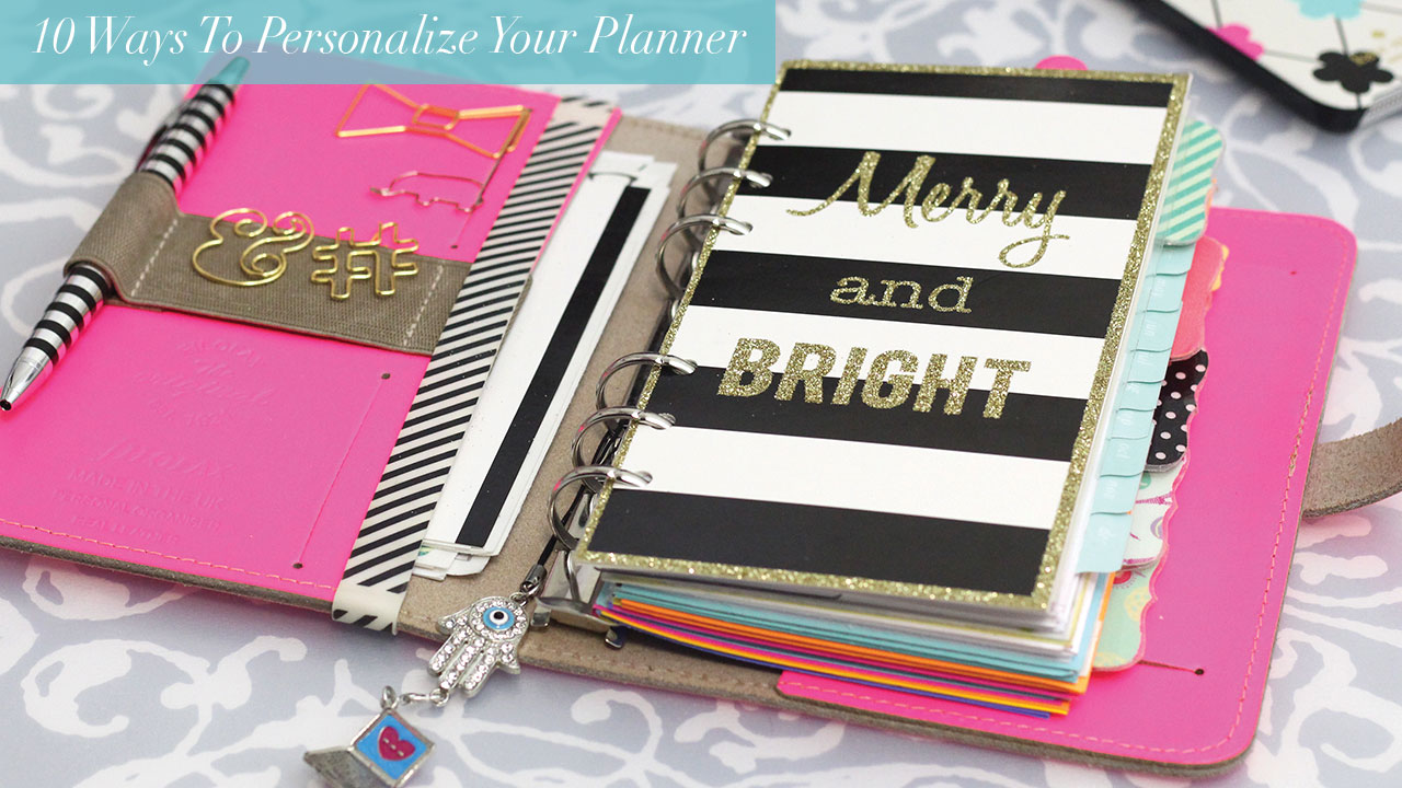 10 ways to personalize your planner strange for Design my own planner