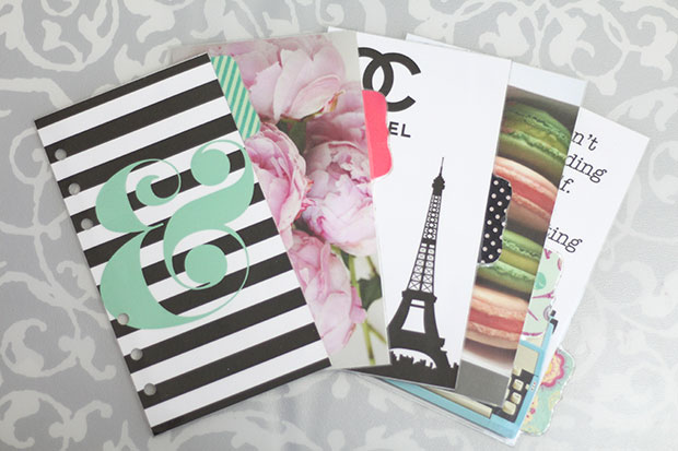 Personalize Your Planner with Dividers