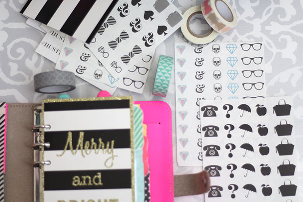 Personalize Your Planner Stickers and Washi