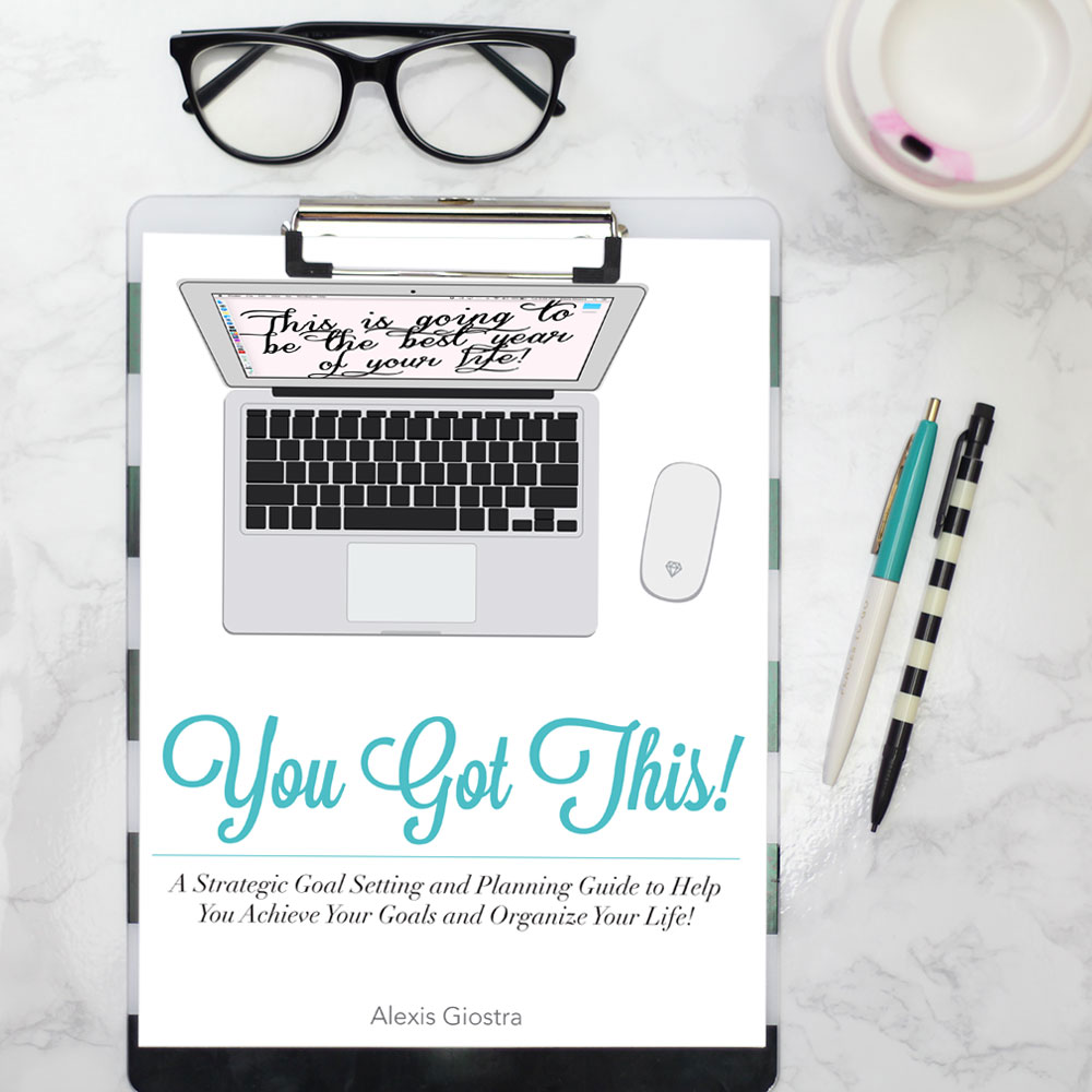 YOU GOT THIS Strategic Goal Setting Workbook is on Sale!