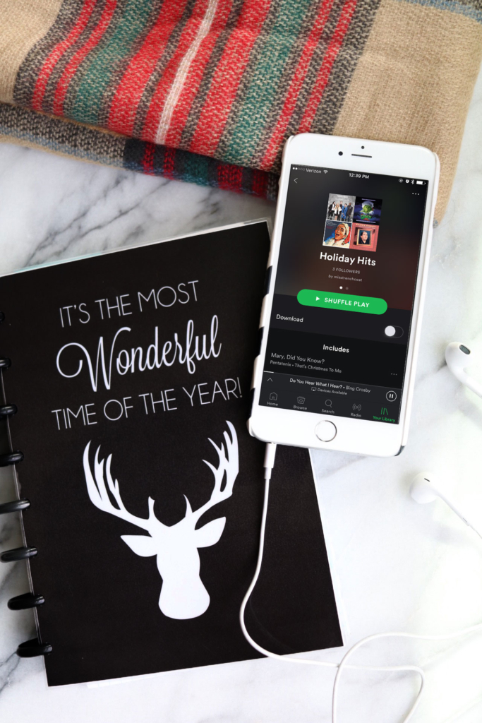 Holiday Hits Productivity Playlist