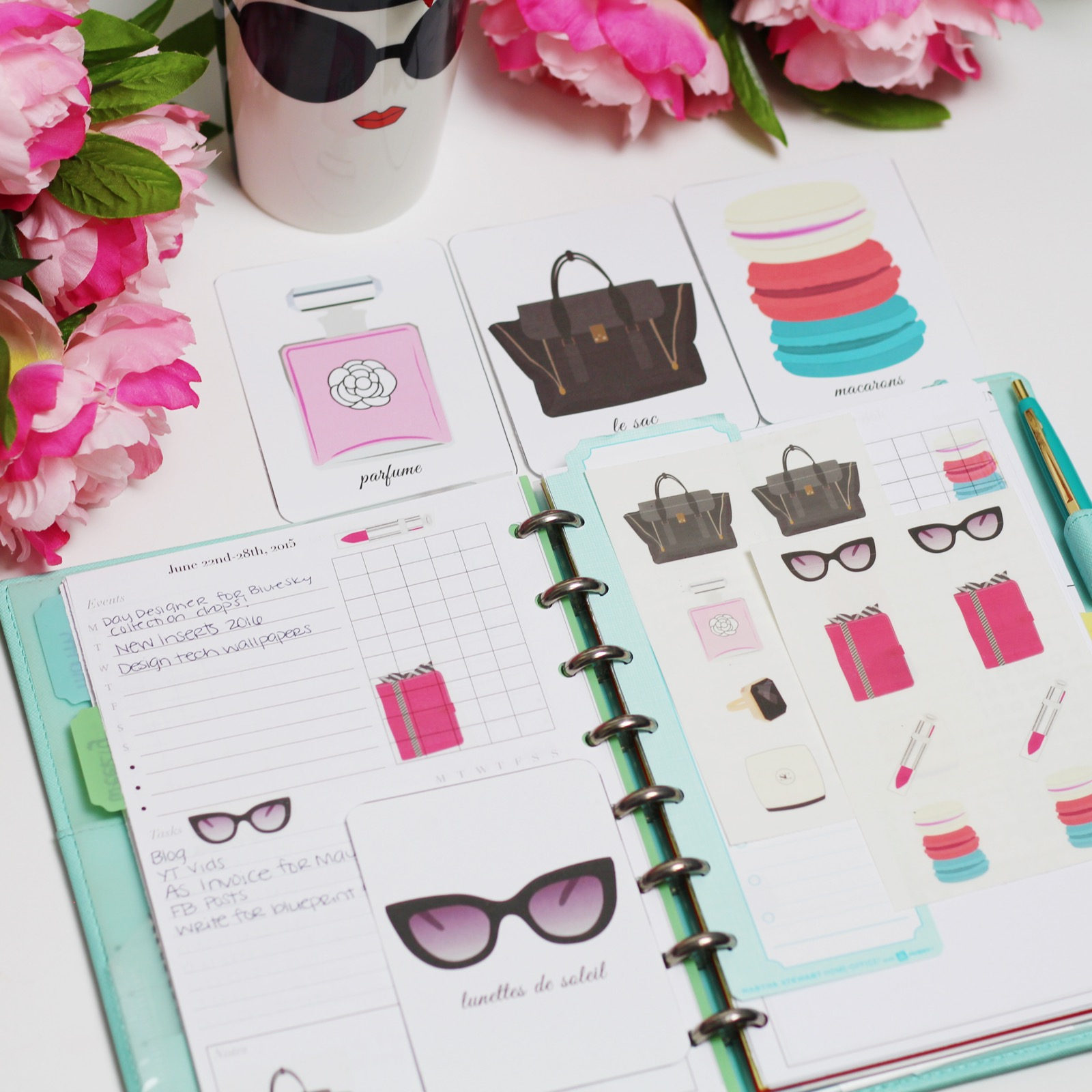 A Parisian Holiday for Your Office & Planner! - Strange ...