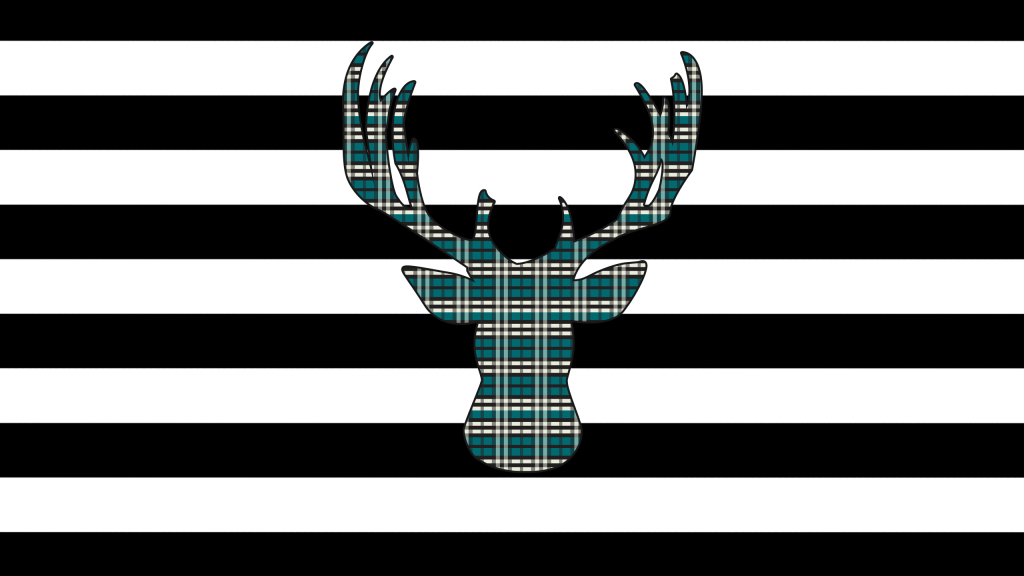 Plaid Deer Desktop