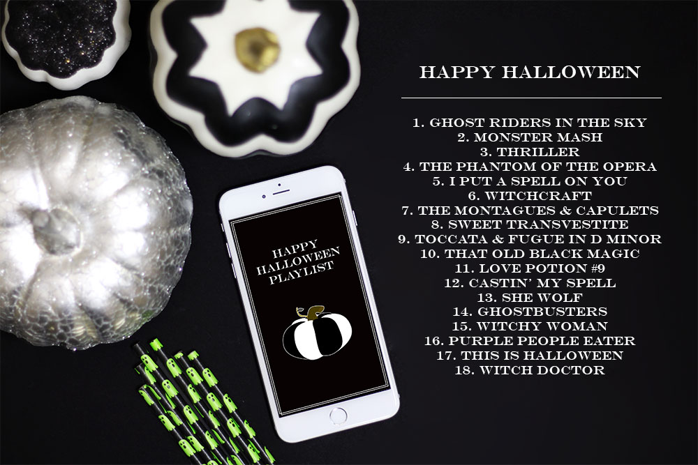 A Happy Halloween Playlist!