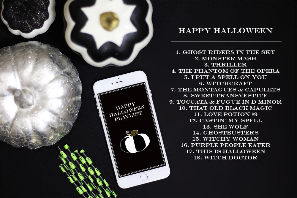 A Happy Halloween Playlist!