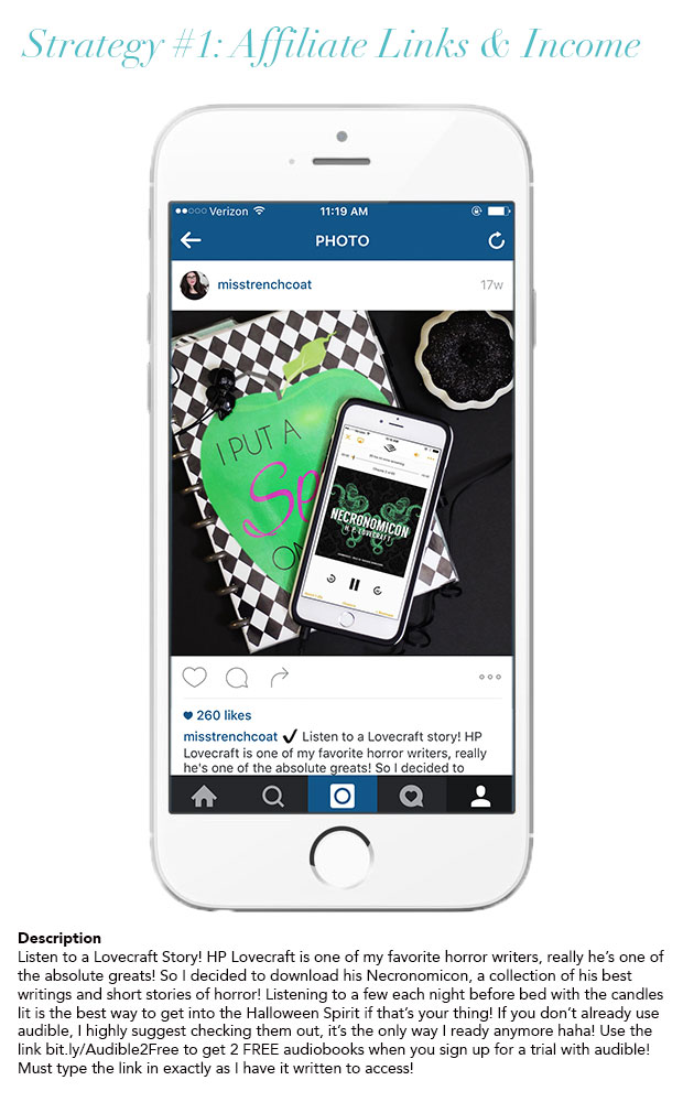 How to use Affiliate Links to Earn Income from Instagram