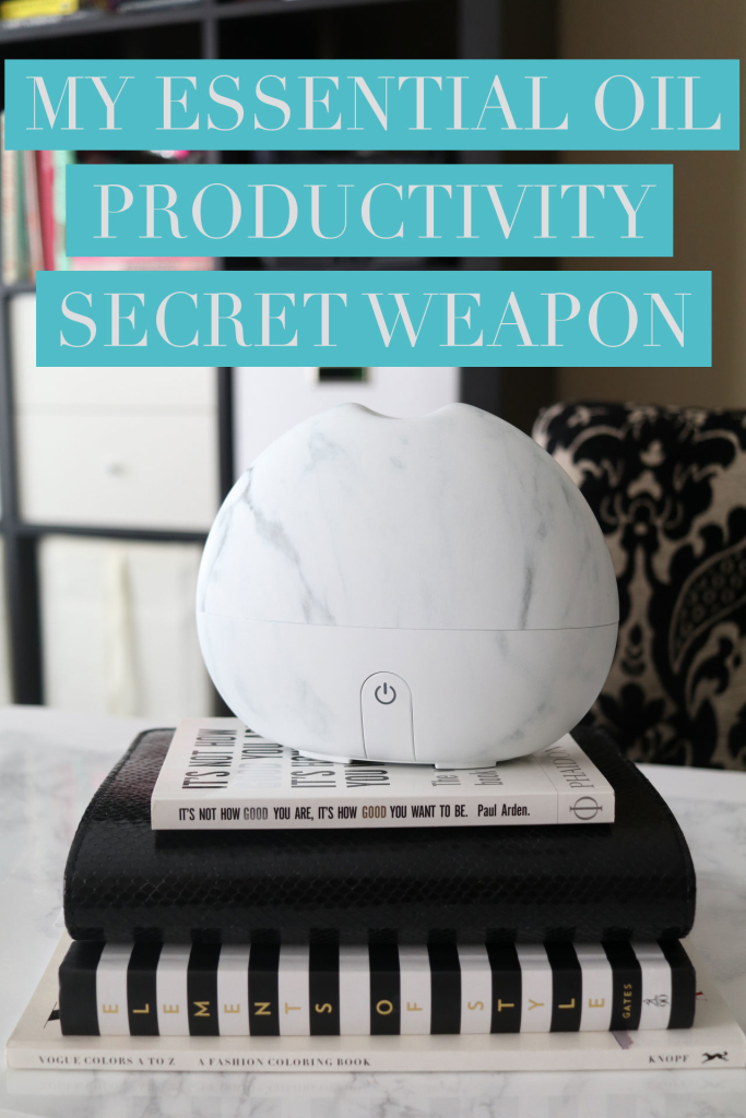My Essential Oil Productivity Secret Weapon