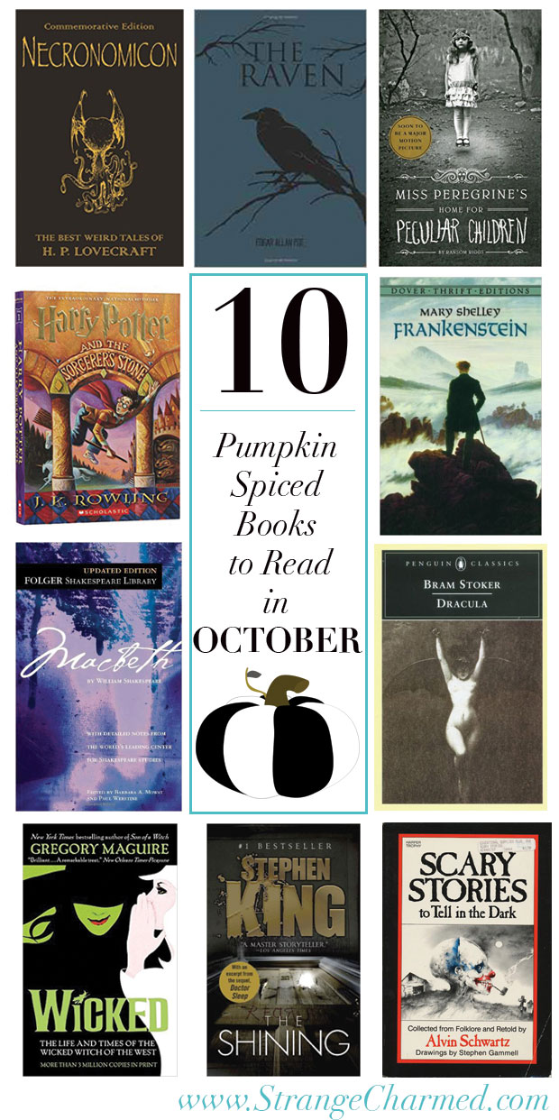 10 Pumpkin Spiced Books to Read in October