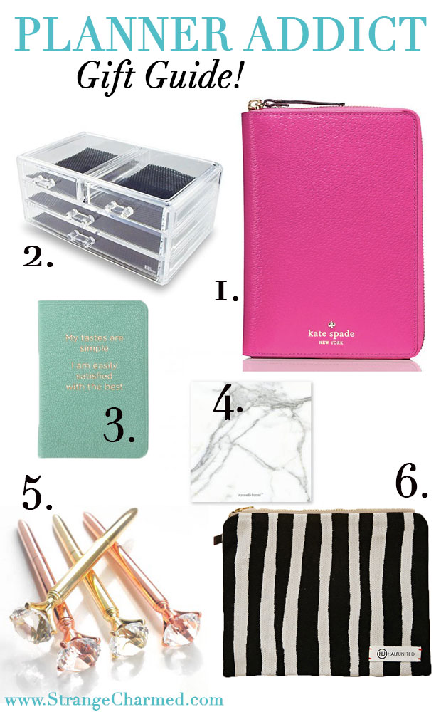 2016 Planner Addict Holiday Gift Guide