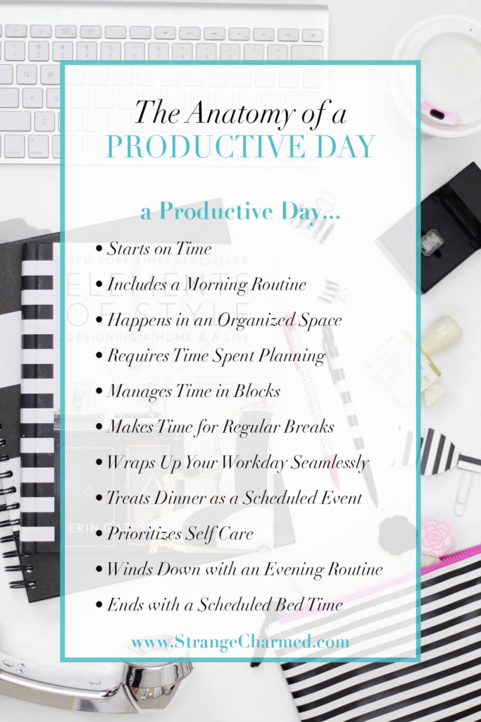 The Anatomy of a Productive Day