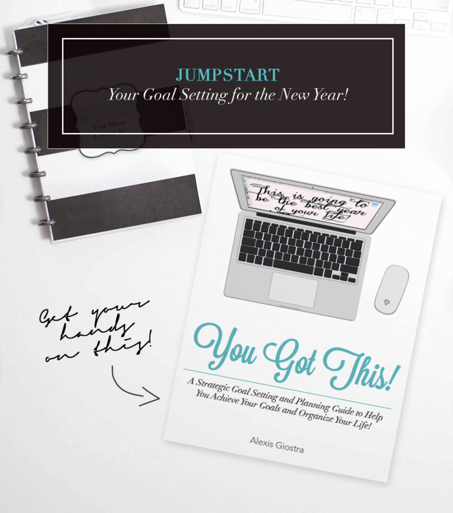 This is EXACTLY what you need to Jumpstart Your Goal Setting Process for the New Year!