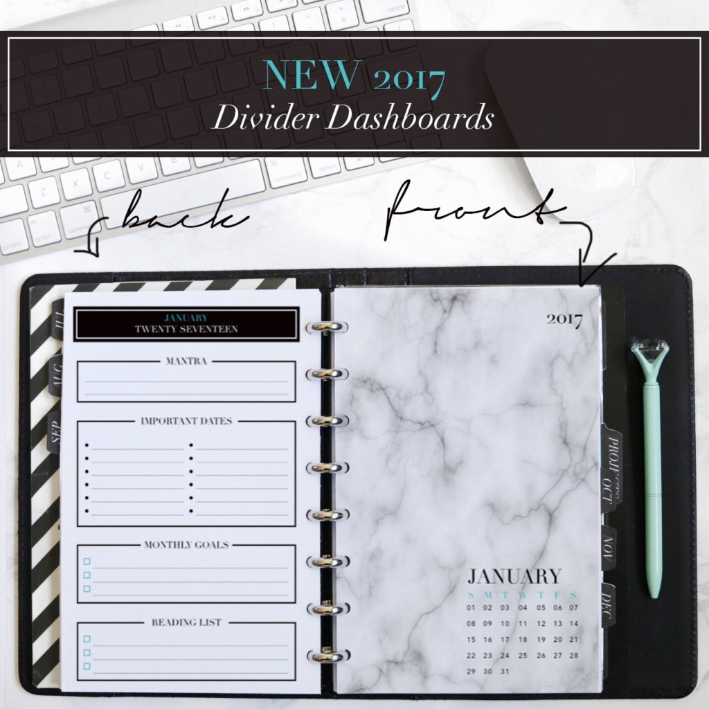 NEW January Planner Printables You Won't want to Miss