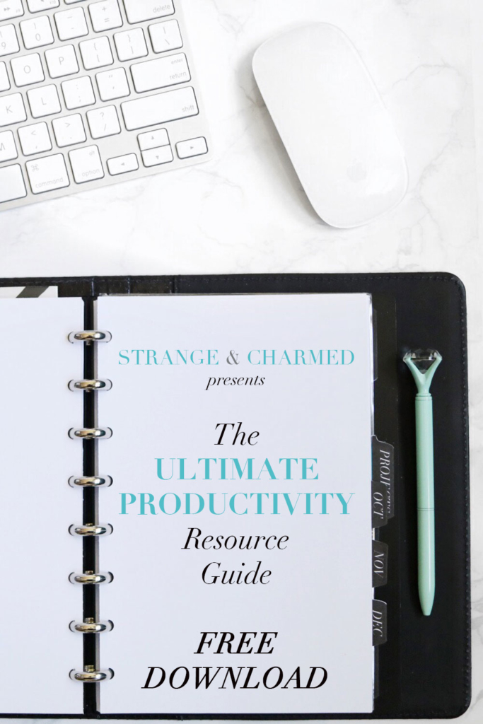 DOWNLOAD YOUR FREE PRODUCTIVITY RESOURCE GUIDE!