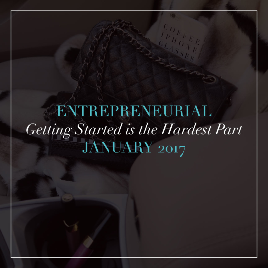 Entrepreneurial: Getting Started is the Hardest Part