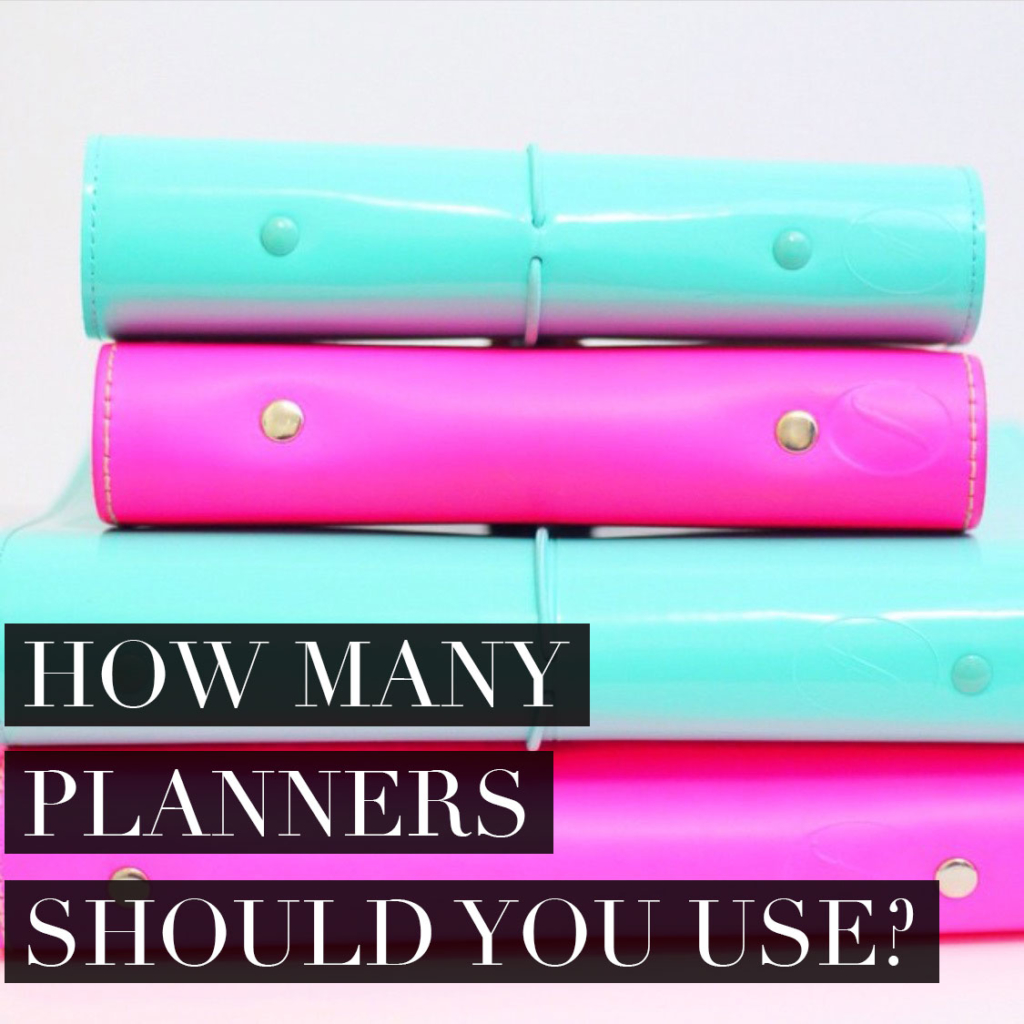 How Many Planners Should I Use to Optimize Productivity?