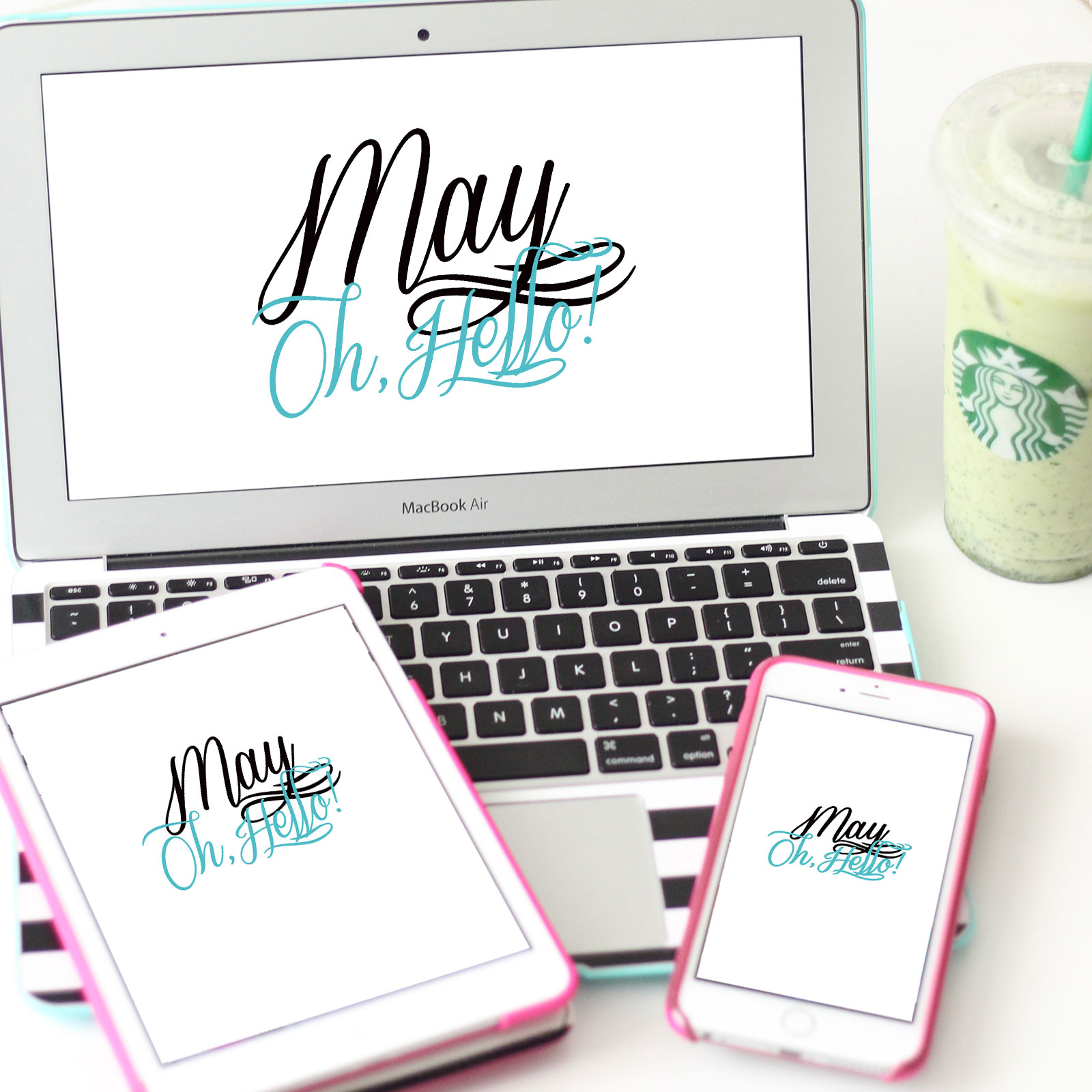 image relating to Free Printable Planner Inserts called Oh, Hi Might! No cost Planner Inserts Tech Wallpapers